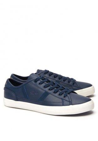 Lacoste Men's Sideline Leather Sneakers