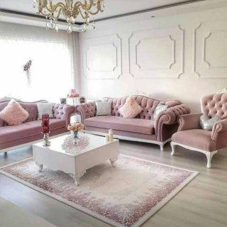 Sofa Tamu Wingchair Mewah 321& Meja