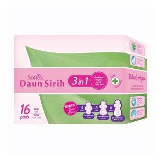 Softex Daun Sirih 3 in 1