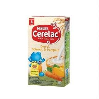 Nestle Cerelac Carrot Spinach Pumpkin