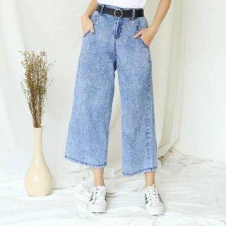 Celana Kulot Jeans Snow Syakira