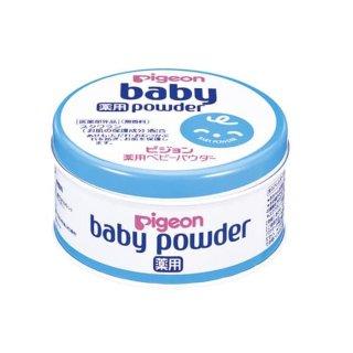 Pigeon Baby Powder Medicated Canned 150 gr Bedak Padat Bayi