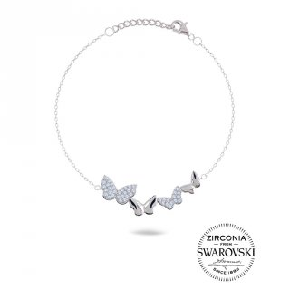 Gelang Quatuor Butterflies Adjustable