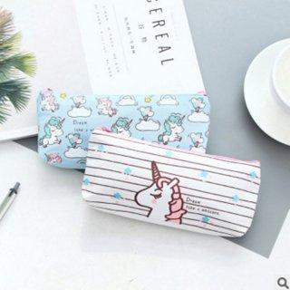 Tempat Pensil Unicorn Canvas