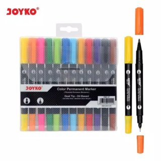 Joyko Spidol Permanent 12 warna Pmc 27