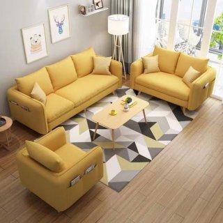 Sofa Living Room Yellow/Sofa Ruang Tamu