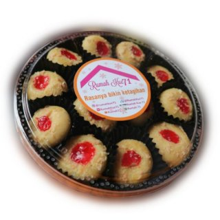 Rumah71 Strawberry Cheese Cookies