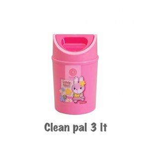 Kotak Tempat Sampah Lion Star 3L Clean Pal C-8 Tempat Sampah Kamar Mini