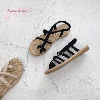 Sandal Jepit Flat Open Toe Anti Slip Casual