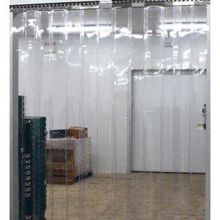 Set Custom Pintu 120 cm x 200 cm Tirai PVC Bening