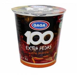 Gaga 100 Mie Goreng Extra Pedas Jalapeno Cup