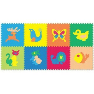 Evamat Motif Hewan Karpet Puzzle