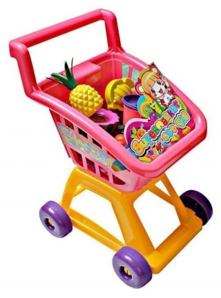 Mainan Anak Shopping Trolley