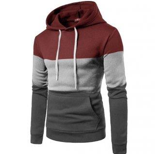 Hoodie Sweater Pria Cowok Varius Kombinasi Jaket Cowok Zipper