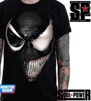 Kaos 3D Monster Venom Original Soul Power Style