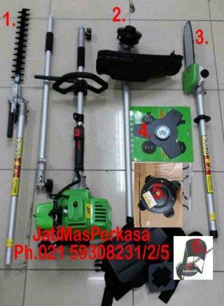 Mesin Potong Serbaguna 6in1 Panen Padi Chain Saw Dll
