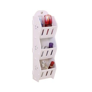 Storage Decorative Rack Shabby Chic Rak Kosmetik