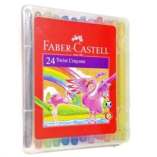 Faber-Castell Twist Crayon Set 24