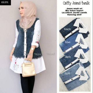 Catty Jeans Tunik