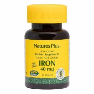Natures Plus Iron Tablets