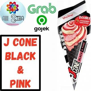 Glico Wings Jcone Black n Pink