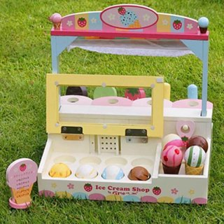 Greda Toys Wooden Ice Cream Shop