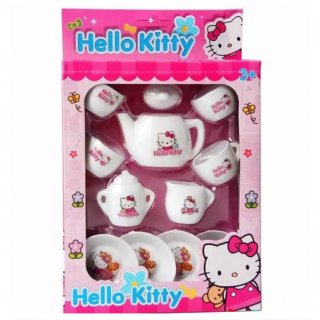 TEKO CANGKIR SET Hello kitty