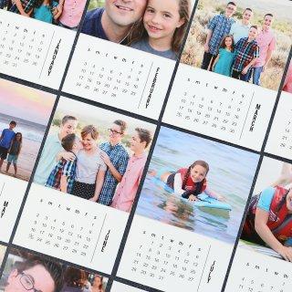 6. Kalender Buatan Sendiri dengan Foto Bersama Teman