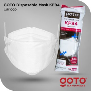 Goto KF94 Disposable Mask 4 Ply