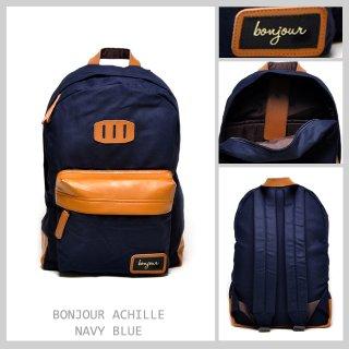 Bonjour Achille Navy Backpack