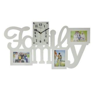 "Jam Dinding M3211A ""Family"" 12 x 16.5 cm"