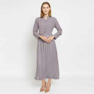 Zarma - Long Maxi Prisket Polos Kira Dress