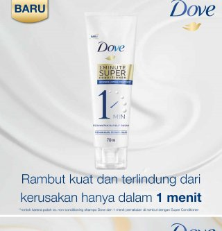 Dove 1 Minute Super Conditioner