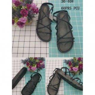 Sandal Wanita Jelly Tali motif GLADlATOR PG775