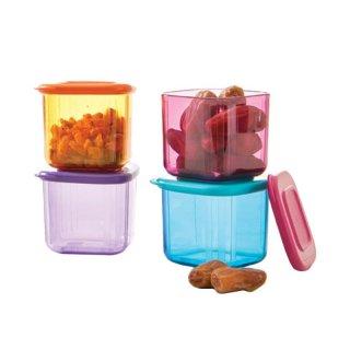 Tupperware Mini Clear Mate Set 4 Pcs