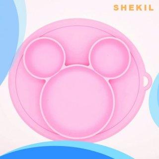 Inone Silicone Mickey Baby Tray Piring Anak Bayi Bahan Silikon BPA Free