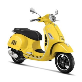 Vespa GTS Super 150 ABS 2019 Yellow Sole