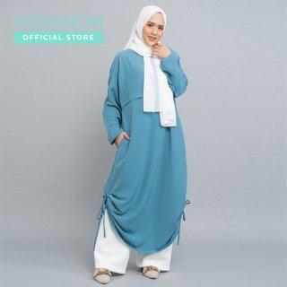 MOOIMOM Dress Muslim with Drawstring
