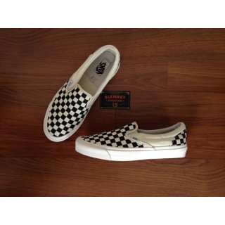 New Vans Vault Og Lx Slip On Classic Checkerboard Original Sneakers Pria