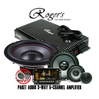 Rogers Audio 3-Way 5-Channel