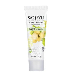 Sariayu Putih Langsat Night Cream