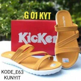 Sandal Kickers Tali Flat Slop