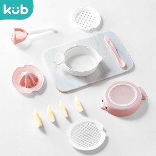 Kub Baby Food Grinder Bowl Set Penghalus Pengolah Makanan Anak MPASI