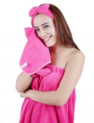 Handuk Muka - Wajah Cotton Compressed Towel Small 30 x 40 Praktis