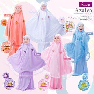 Sanaya Kids Mukena Anak Kaos Premium seri Azalea