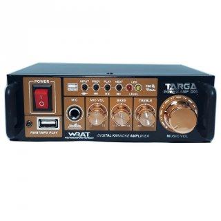 Amplifier Targa D-06 Bluetooth Stereo Karaoke + Mp3 player + FM Radio
