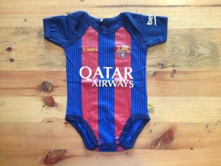 Baju Bola Bayi, Pakain Bayi, Jumper Bola Bayi Barcelona Home