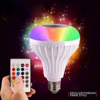 Lampu Music LED RGB Speaker Bluetooth Wireless
