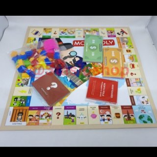 22. Mainan Monopoli Belajar Mengatur Keuangan