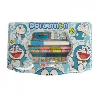 0840050055-11 Doraemon Tempat Pencil Stationery Set Alat Tulis Anak